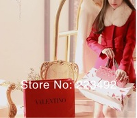 Женская одежда из шерсти 2013 women's Christmas must- Korean version of sweet two-piece single-breasted cape coat high quality wool coat