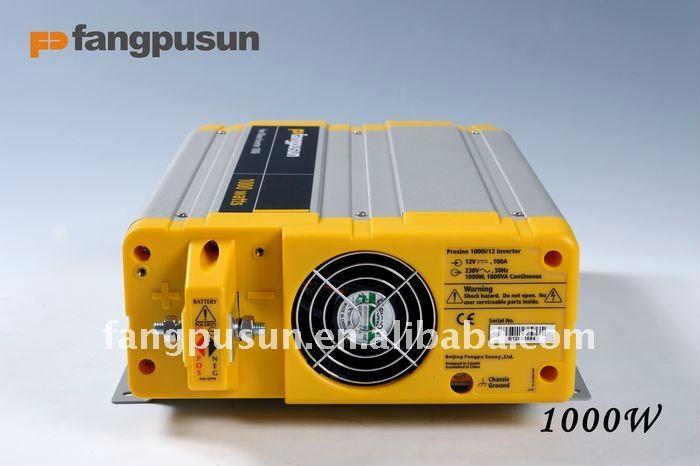 Solar panel power converter 1000W 50Hz 60Hz with CE ROHS SGS