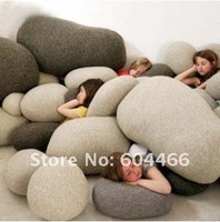 Living stones pillow, pillow Cobblestone ,best gift for the lovely children/girlfriend 6 pcs per set free shipping