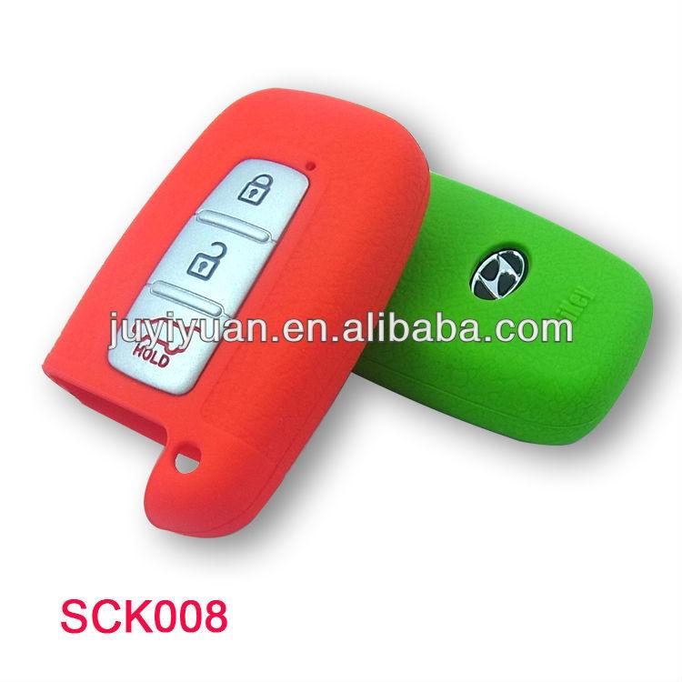 De silicona caso llave del coche para motocicletas/hyundai clave ...