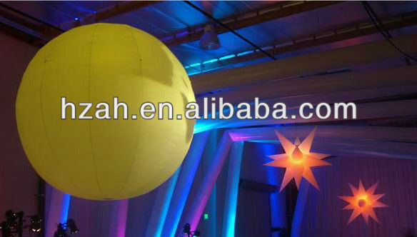 Hanging Inflatable Lighted Balloon