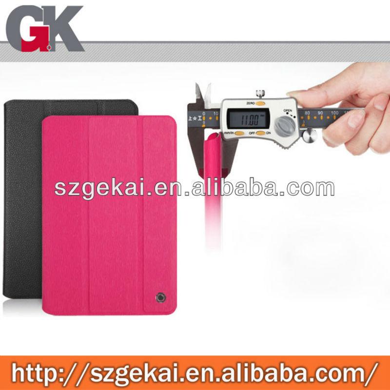 Nontoxic for ipad mini flip leather case