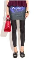 EAST KNITING SP-036 Galaxy Clothing fashion shorts women galaxy print women pencil skirt women skirts galaxy skirt NEW