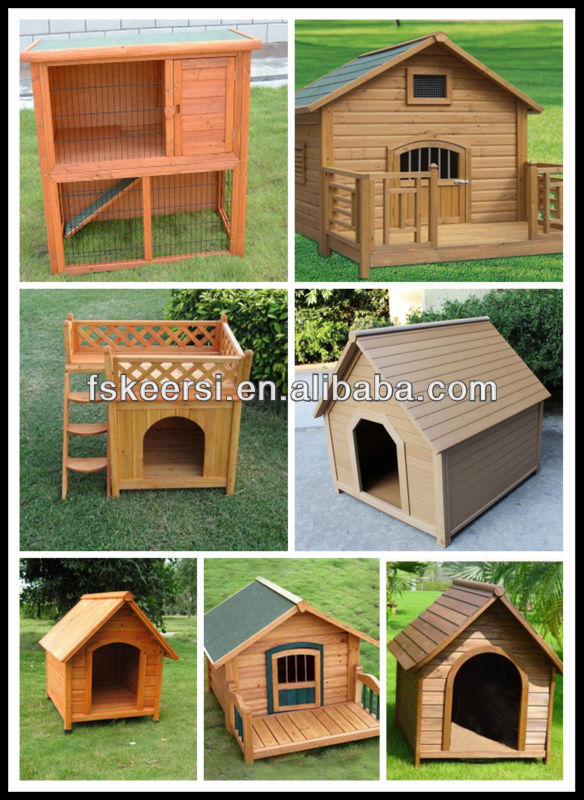 PS fashion Wooden dog kennels/dog house