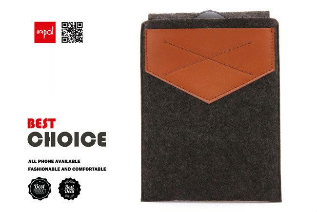 Durable wool felt Simple innovative products for ipad mini sleeves