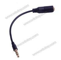 Различные разъемы и Клеммы 3.5mm Earphone Headset Audio Adapter Cable