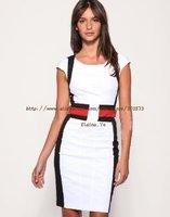 Одежда и Аксессуары Hot sale pencil dress evening dress ladies' dress white