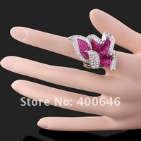 Кольцо Arinna Finger Ring J0095 with Swarovski Element