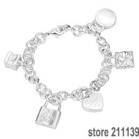 Браслет из серебра Bracelet 925 # 211139 kzka tqsa lq/h158 fashion