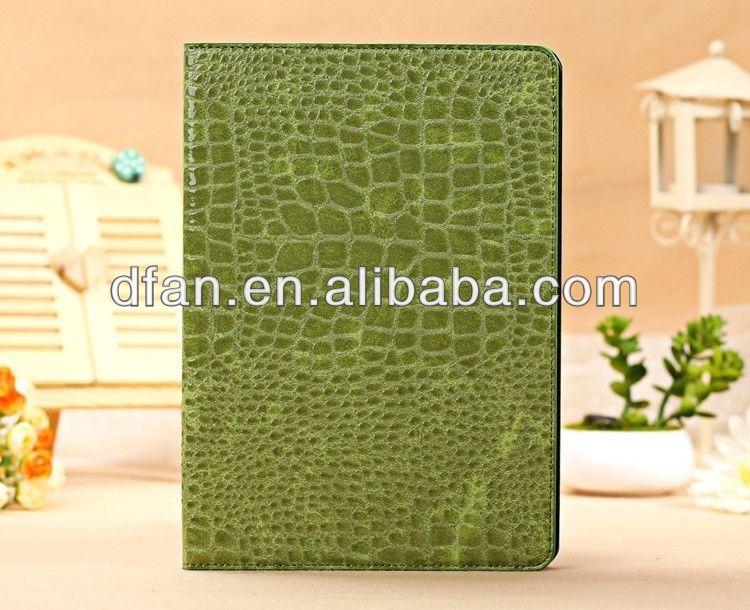 2013 Slim Crocodile Leather Case for iPad Air