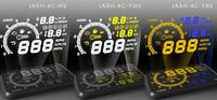 во всем мире новейших золы 4c multi автомобилей hud-голову вверх экран с топлива расход воды температуры скорость obd ii маршрутный компьютер