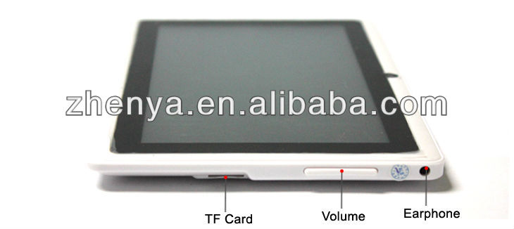 Most Suitable Android 4.0 BOXCHIP A13 Two Cameras Tablet Pc Price China