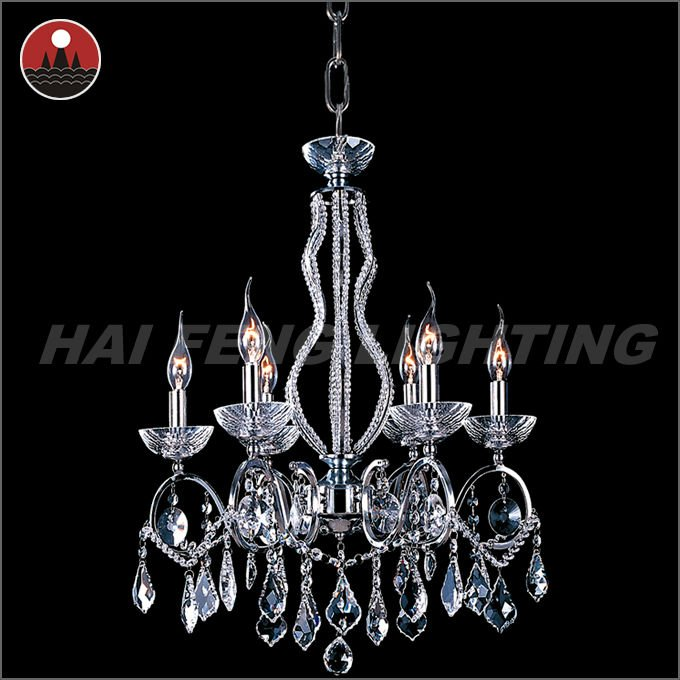 Silver crystal light candle light HF-CY8848-8L