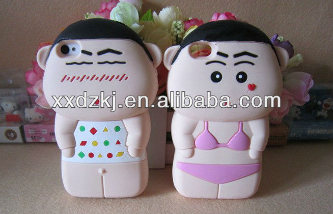 custom made cover for iphone 5-Crayon Shin-chan cartoon phone case