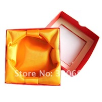 квадрат пустой специальная бумага дисплей хранения поле дела украшения упаковки boxbangle/браслет коробки /-розничная торговля 12pcs/lot