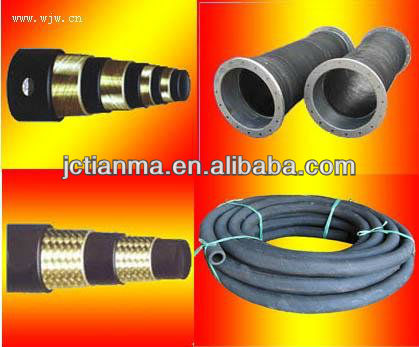 Lowest Price High pressure steel wire spiral hydraulic rubber hose rubber pipe joints