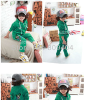 Кофта для девочки Sunlun Girls' Cute Embroidered Velvet Hoody Suits SCG-1038