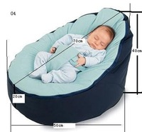 2012NewPromotion Free shipping Top quality Baby sofa/Baby seat/Baby lazy bed/Baby furniture/Bean seat