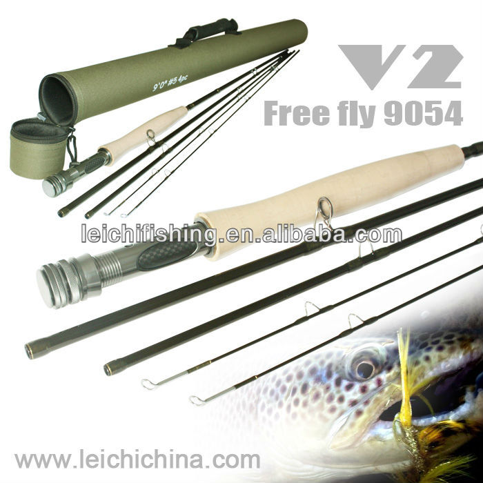 New Leading High quality carbon fly fishing rods