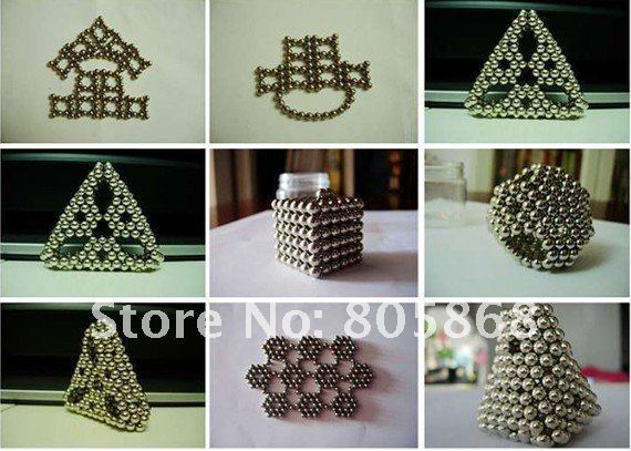 Free Shipping Wholesale Ni Genuine 3mm 216 Neocube Balls Magnetic,Neodymium Cube Magnet Balls 100% Satisfaction