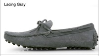 Мужская обувь для скейтбординга 2013 boat shoes, genuine leather fashion men suede loafers, casual shoes, peas shoes