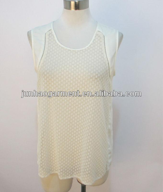 2013 de moda ropa de verano de los modelos en blusas de chifon