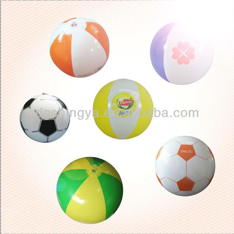 PVC 45CM inflatable beach ball