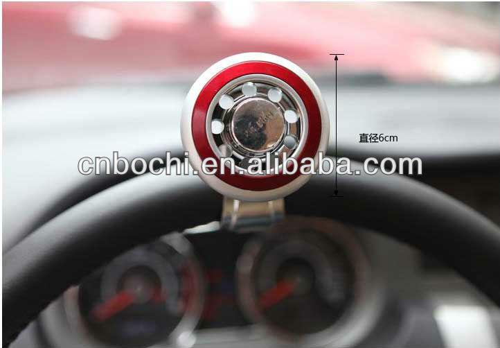 Auto steering wheel knob