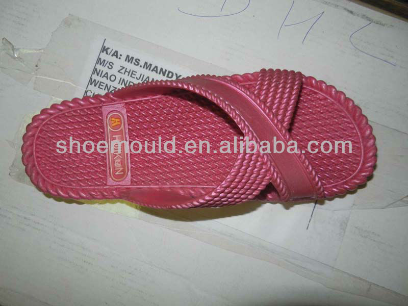 2015 For SALE PVC Airblowing Sandals Mould Fiited for Pvc airblowing