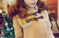 Free shipping/2012 NEW/Restore ancient ways/lovely/wool/warm/cloak/Coat/Tops/Winter clothing/RG1208063