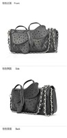 Free Shipping Designer Butterfly bow/knot Clutch Purse wristlet evening bag Chain Bags wallet Handbag M28/040