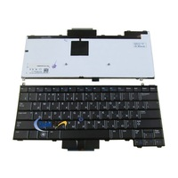 Компьютерная клавиатура New Russian Keyboard for DELL Latitude E4310 Black