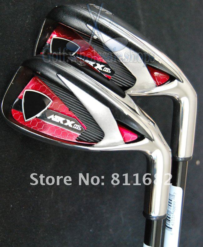 Left-Hand  New X-HL irons golf set 4-9P.A.S 9pcs series S 60l Graphite/shaft Golf Clubs Free shipping