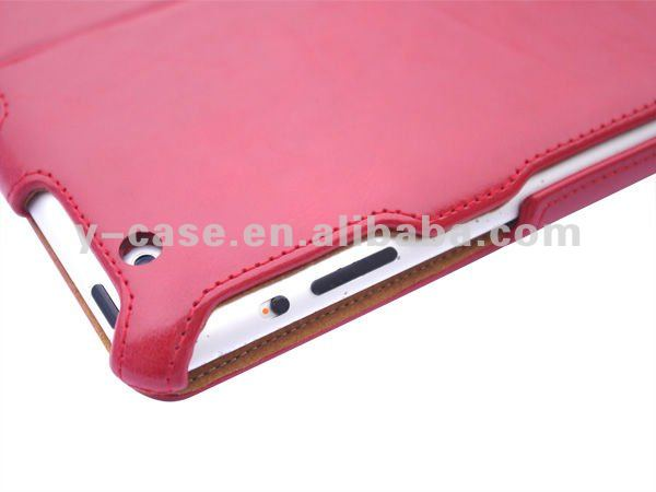 Smart cover leather case for ipad 3 OEM is welcome shenzhen dongguan China factory price