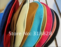sexy lovely wide wire brim Summer Beach Sun Straw Floppy hat