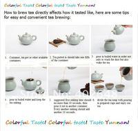 Чай Пуэр Вкус Юньнань