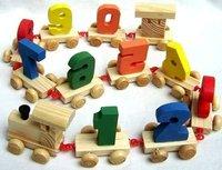 Детское лего COCO DIY  Digital Train