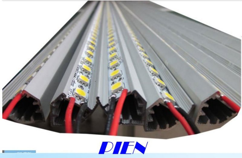 CE&ROSH ! 5630 SMD 72 LED 1 meter Rigid LED Strip Light Bar Hard Pixels Strip with Aluminium Alloy Shell  by Express 50pcs/lot