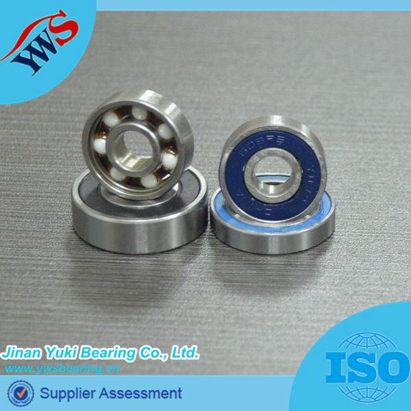 varioius color 608 rubber sealed skateboard ball bearings
