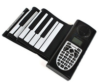 New 61 Keys Electronic Organ Digital Roll-Up Soft Keyboard Electronic Piano & USB MIDI Cable