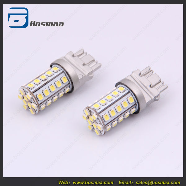 Dual color 7443 60 smd 3528 LED Car Signal Light
