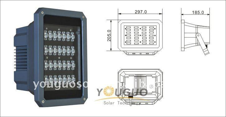 LED Flood light( YG-FL008-28w)