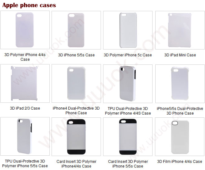 Wholesale sublimation phone case