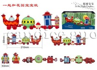 candice guo! Hot Sale 20% Off Plastic Toy In The Night Garden Series Ding-ding Car 3PCS a Lot