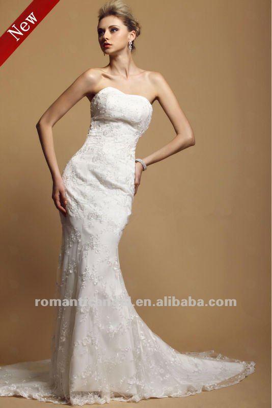 Хвост дюкс свадебное платье с мыса