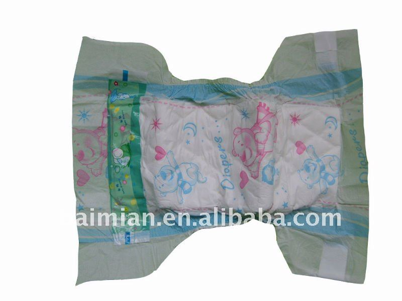 Disposable Breathable and soft sleepy baby diaper