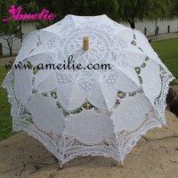 Vintage lace wedding parasols assorted colors available