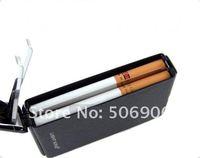 Зажигалка Cigarette case auto magic , 10 metal cigarette case