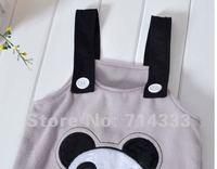 Розничная весна осень шлифов девочек мальчики пиджак + суспендер брюки одежда набор с panda лягушка обезьяна стиль