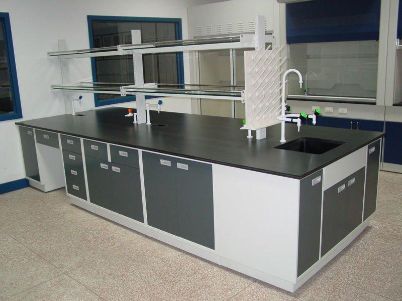 laboratory bench top